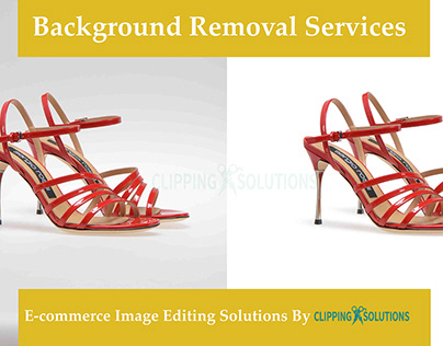 Clipping path & Background Removal services