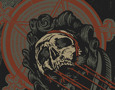 Slayer GigPoster - Repentless Tour