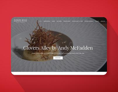 Website for Fine Dining Restaurant