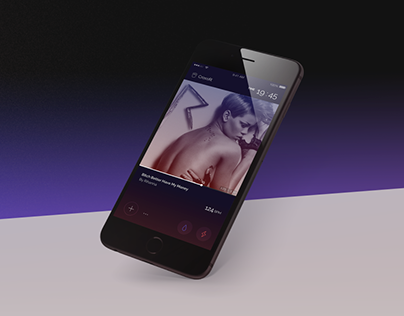 Crescendo – Spotify Fitness Music Player