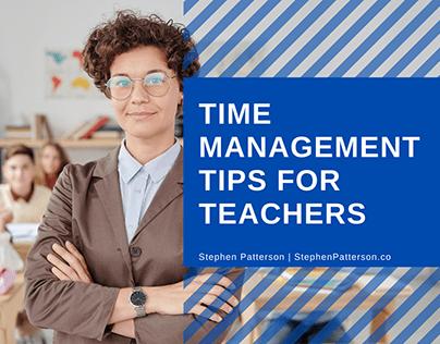 Time Management Tips for Teachers