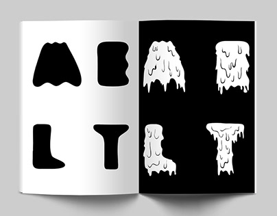 Latin typeface: MELT
