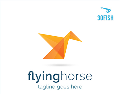 30Fish - Flyinghorse Fold Logo