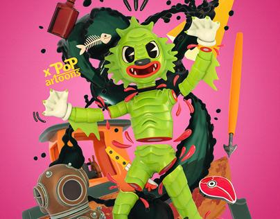Halloween! Cartoon Lagoon.