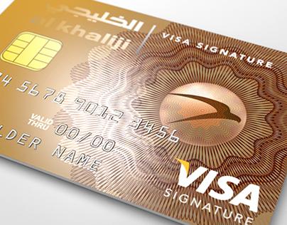 Al'Khaliji Bank_Credit card series