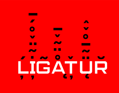 Ligatür Type Foundry Variable Brand Identity