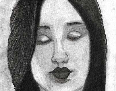 Retrato de Carolina