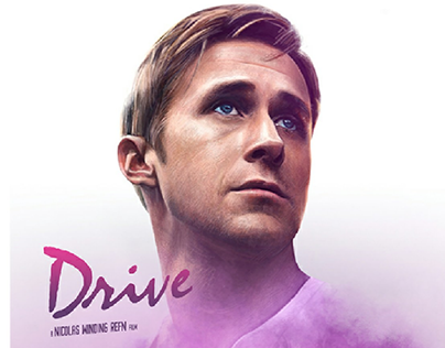 Drive, Alternative Movie Poster (with @malone_draws)