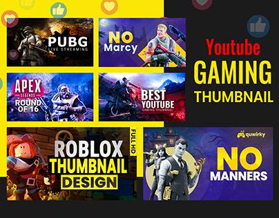 Youtube gaming thumbnail
