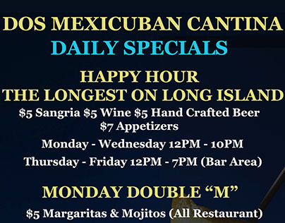 Daily Specials Banner