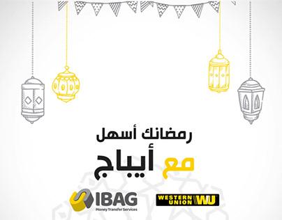 Ramadan IBAG WESTERN UNION