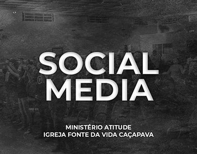 Social media - Igreja Fonte da Vida