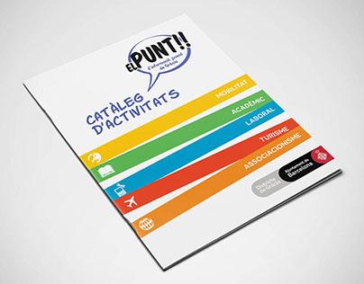 Catálogo de actividades de centro juvenil de Gràcia.