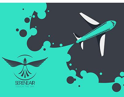 SERENEAIR - Airline ReBranding