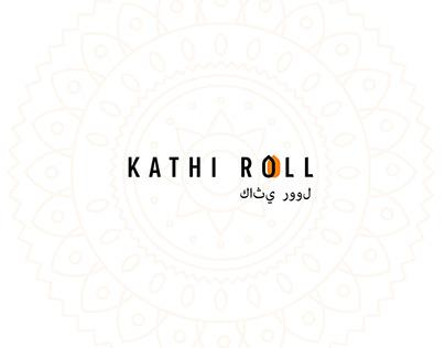 Branding Kathi Roll Indian food