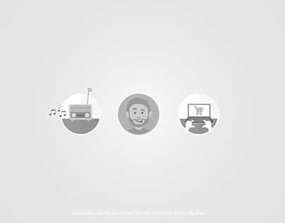 Motion Graphics: El club de la radio
