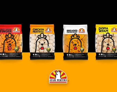 CP Ayam Pertiwi Malaysia Packaging Design