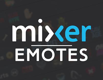 Mixer emotes