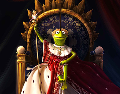 Le sacre de Kermit