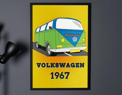 Volkswagen 1967 | Illustration