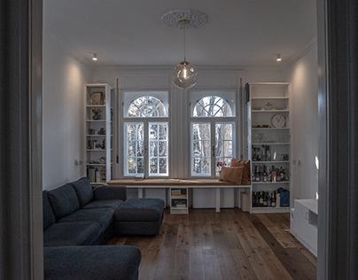 Buda villa apartment complete renovation