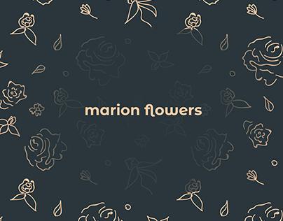 Brand design concept for flower shop