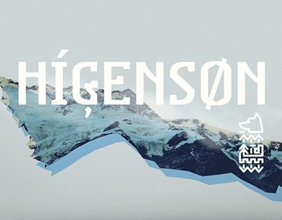 Higenson Font