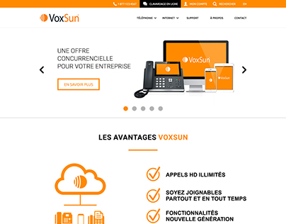 Voxsun - Wireframes and Prototypes