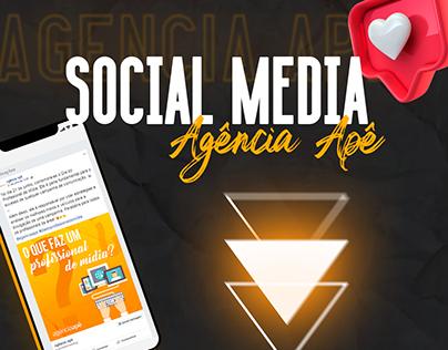 Social Media / Agência Apê