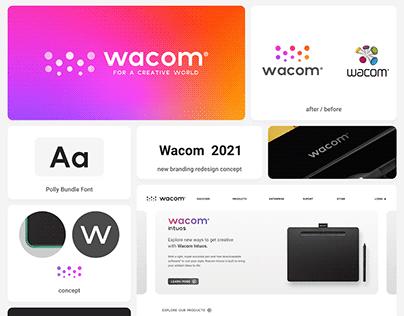 WACOM Redesign, Concept