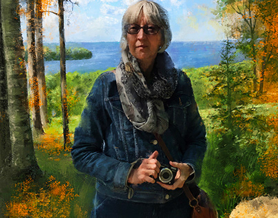 Portrait: On the High Bluff