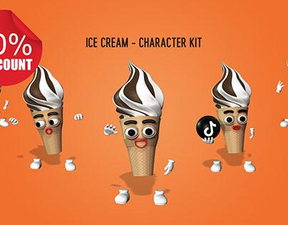 Ice Cream - Character Kit