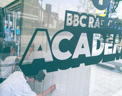 BBC Radio One Academy Mural