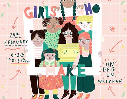 Girls Who Make: February