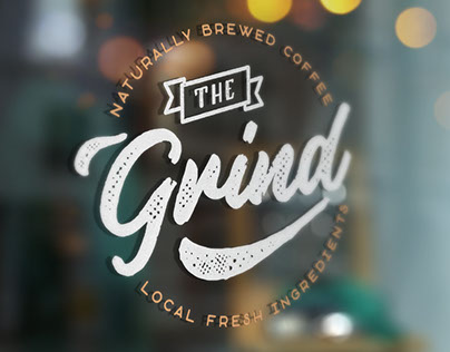 The Grind | Thirty Days Logo Challenge