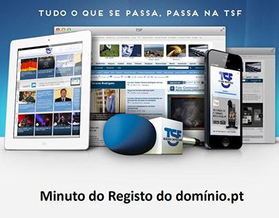 TSF - Registo do domínio.pt