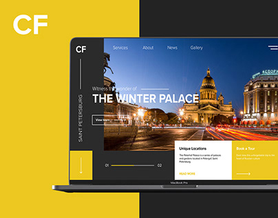 City Friend - travel agency website