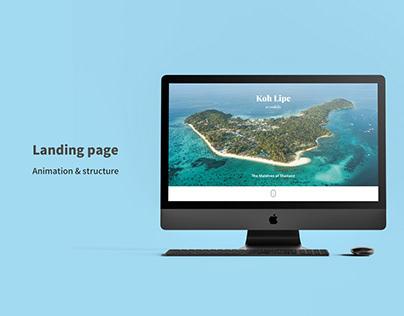 Koh Lipe Landing Page
