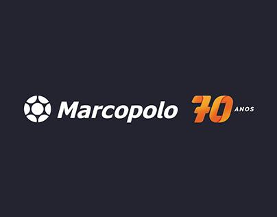 Marcopolo - Campanha 70 Anos