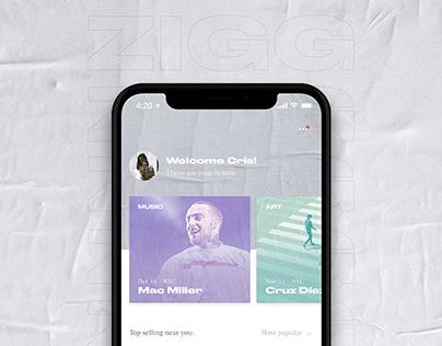 Zigg — mobile app