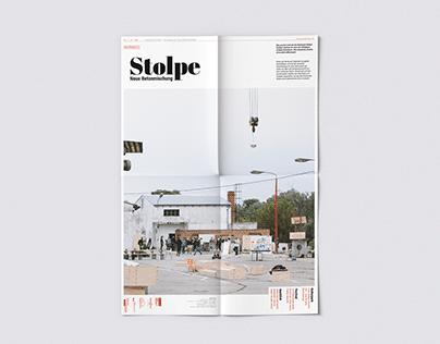 Stolpe - Neue Betonmischung No1