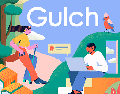 Illustration Gifs for Guich