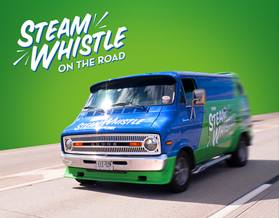 Steam Whistle on the Road