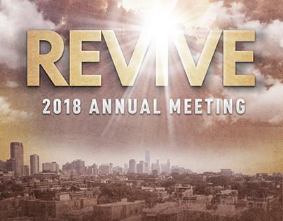 REVIVE Church-Wide Campaign Annual Report Cover