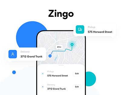 Zingo — UI/UX, Branding