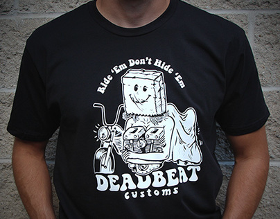 Deadbeat Customs : Graphic Tee