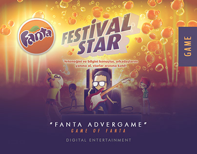 Fanta Festival Star Advergame