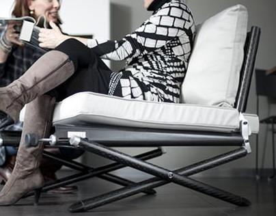 CARBON - N º 2 // Lightweight Carbon Fiber Chair