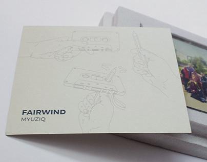 "FairWind ""Myuziq"" / art directing"