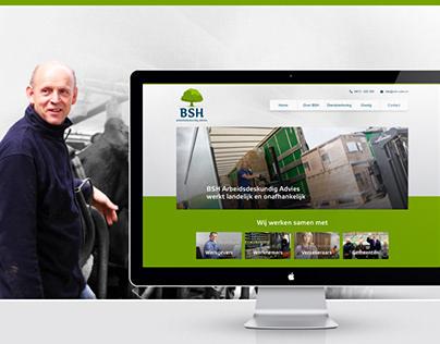 BSH Uden - redesign logo & website